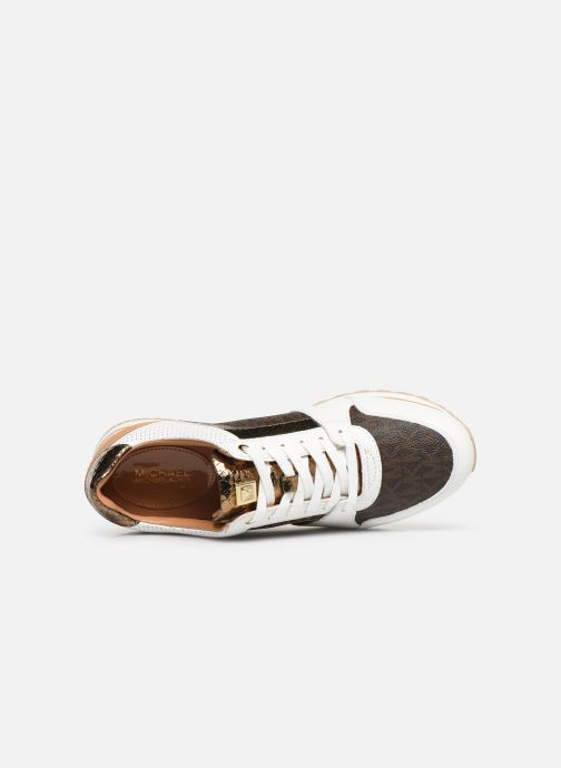 Baskets Michael Michael Kors Billie Trainer Blanc vue gauche