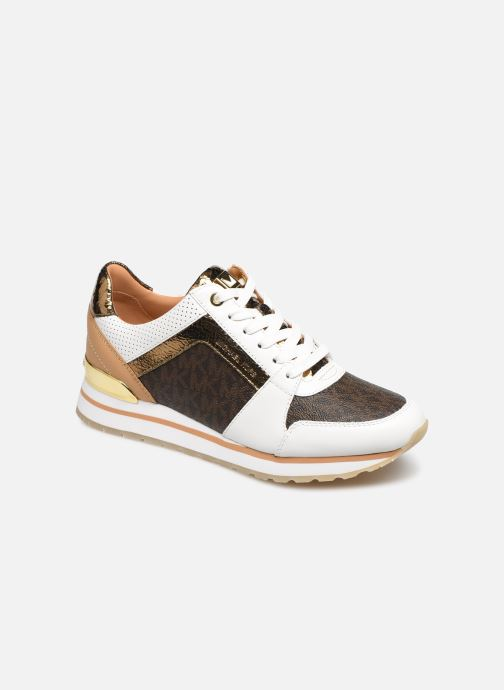 Baskets Michael Michael Kors Billie Trainer Blanc vue détail/paire