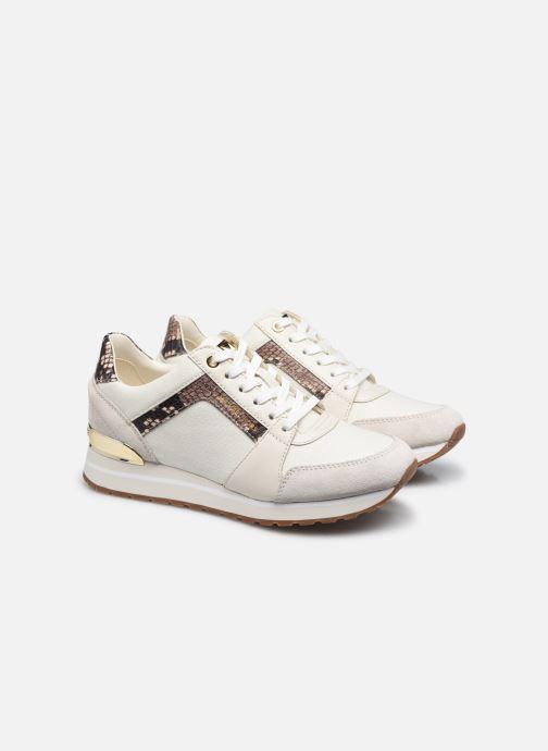 Sneakers Michael Michael Kors Billie Trainer Beige immagine 3/4