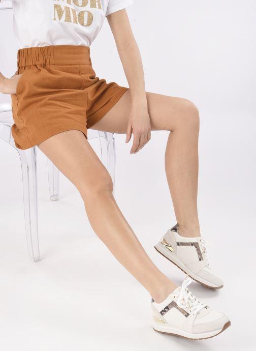 Sneakers Michael Michael Kors Billie Trainer Beige immagine dal basso