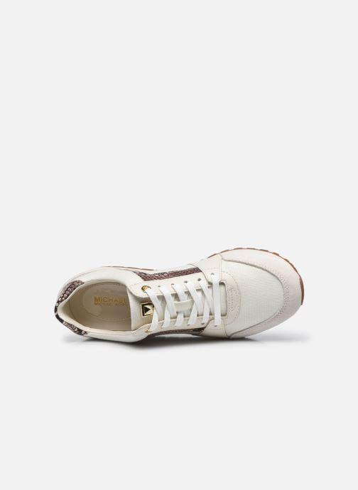 Sneakers Michael Michael Kors Billie Trainer Beige immagine sinistra