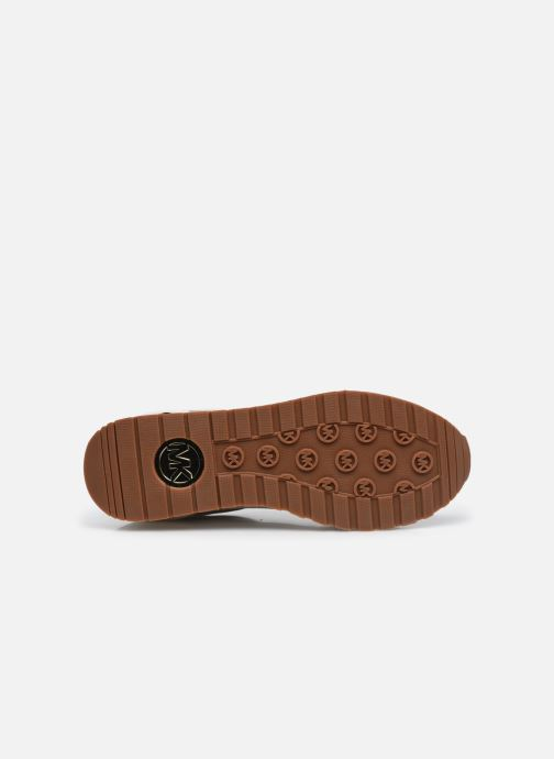 Sneakers Michael Michael Kors Billie Trainer Beige immagine dall'alto