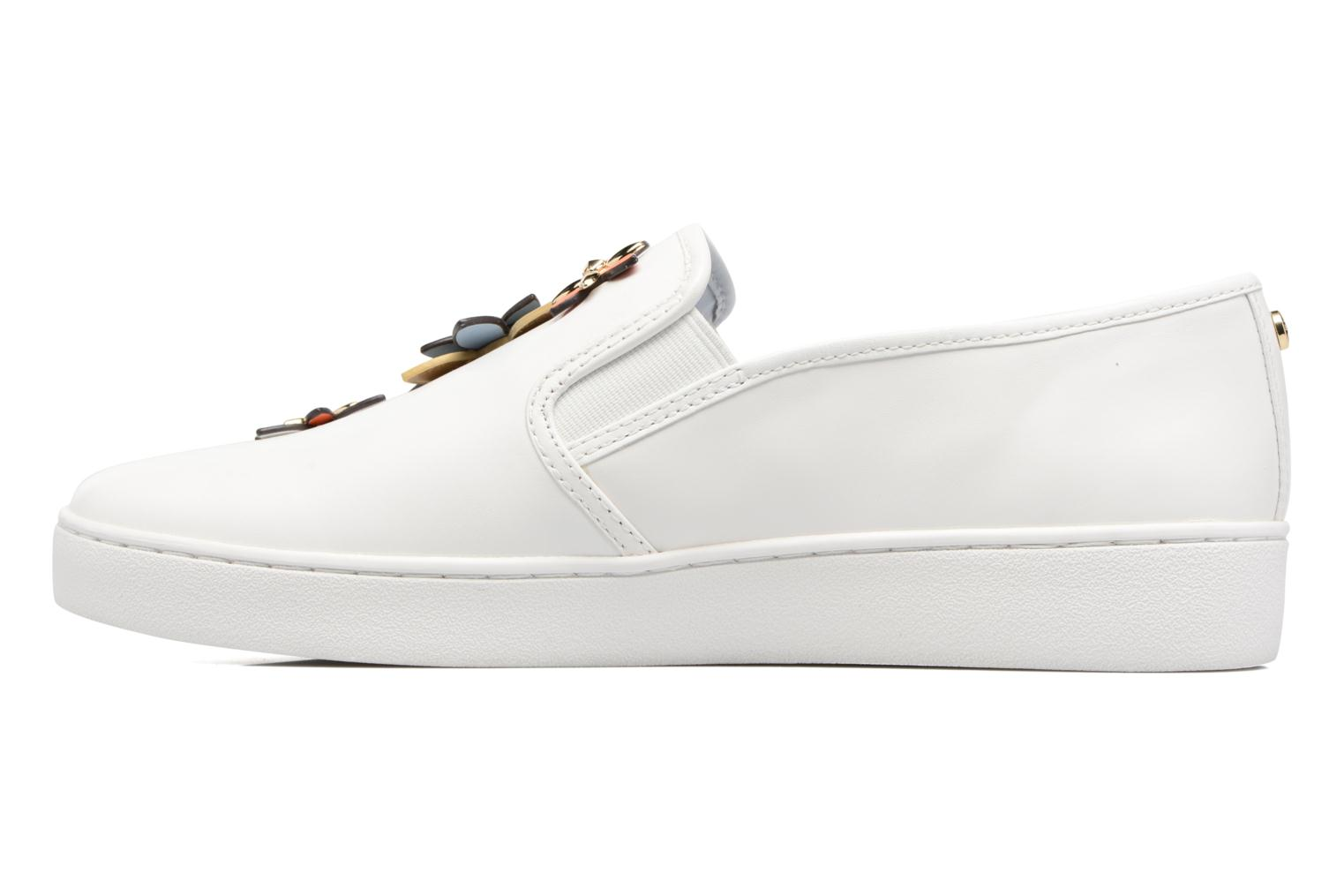 Sneakers Michael Michael Kors Heidi Slip On Wit voorkant