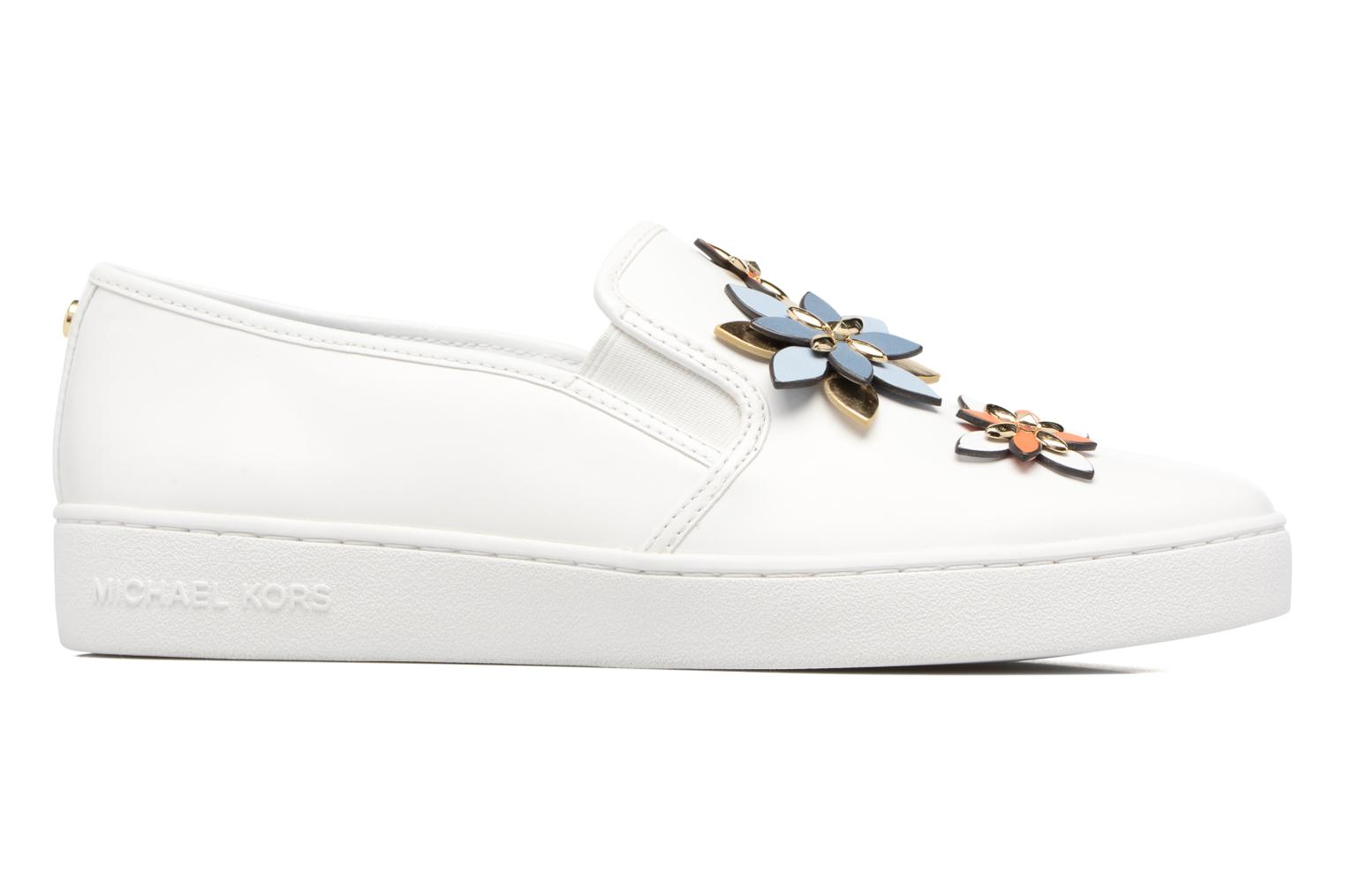 Sneakers Michael Michael Kors Heidi Slip On Wit achterkant