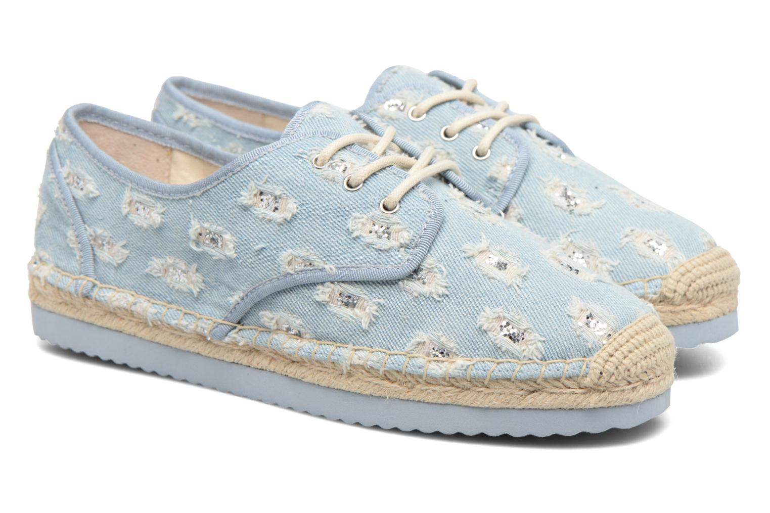 Espadrilles Michael Michael Kors Hastings Lace Up Blauw 3/4'