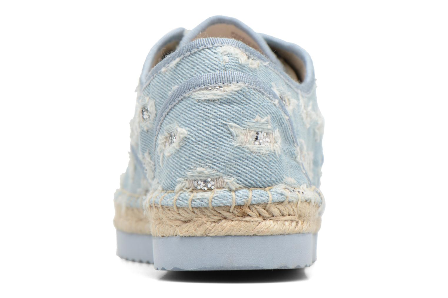 Espadrilles Michael Michael Kors Hastings Lace Up Blauw rechts