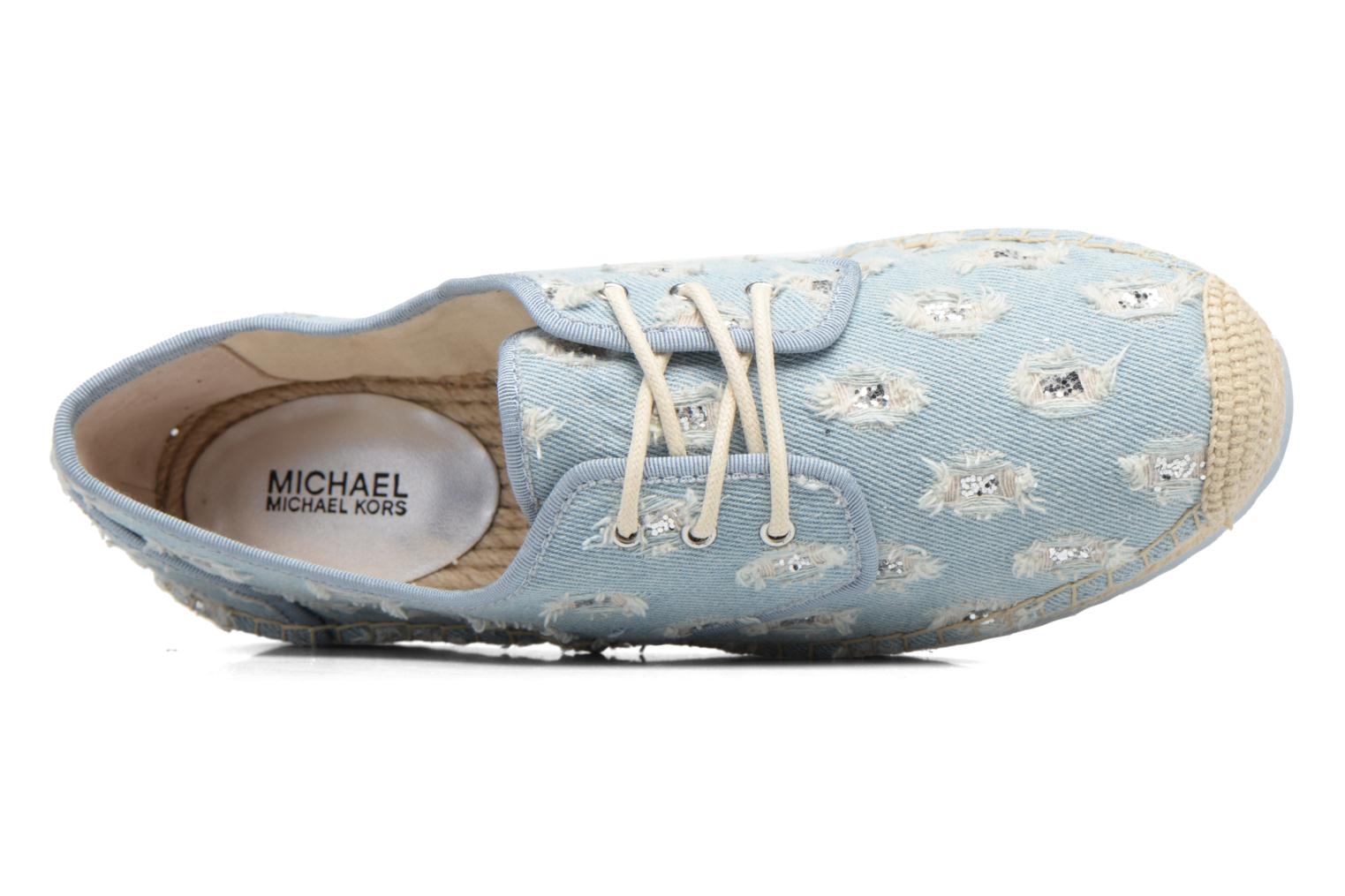 Espadrilles Michael Michael Kors Hastings Lace Up Blauw links