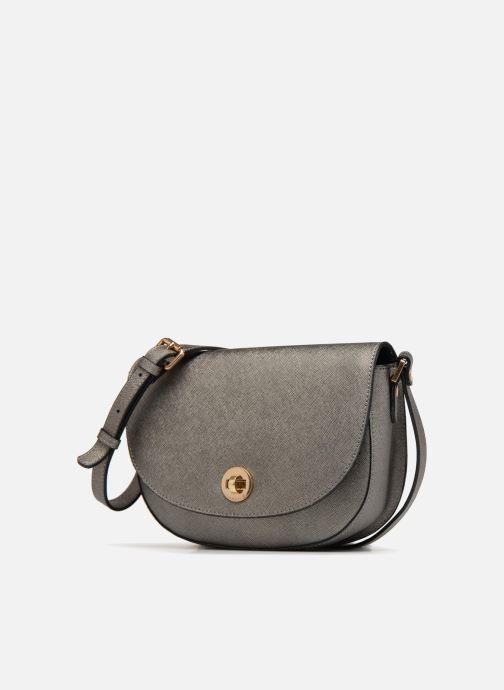 Handtaschen Sabrina Flora grau schuhe getragen