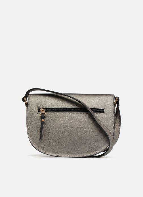 Handtaschen Sabrina Flora grau ansicht von vorne