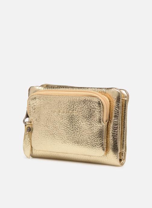 Wallets & cases Sabrina Ninon Bronze and Gold model view