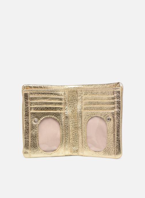 Wallets & cases Sabrina Ninon Bronze and Gold back view