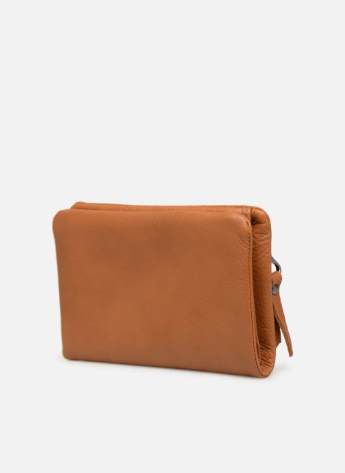 Wallets & cases Sabrina Ninon Brown view from the right