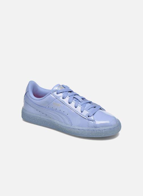 a34d438decaa Puma Basket Patent Iced Glitter Jr (Blue) - Trainers chez Sarenza ...