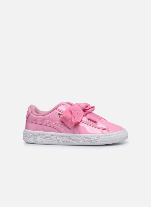 Sneaker Puma Basket Heart Patent PS rosa ansicht von hinten