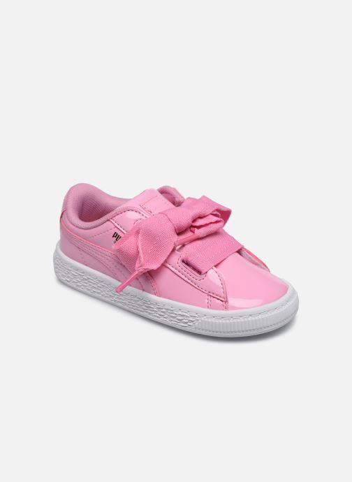 Sneaker Puma Basket Heart Patent PS rosa detaillierte ansicht/modell