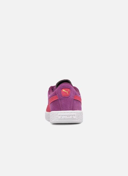 Baskets Puma Ps Suede 2 Straps Violet vue droite