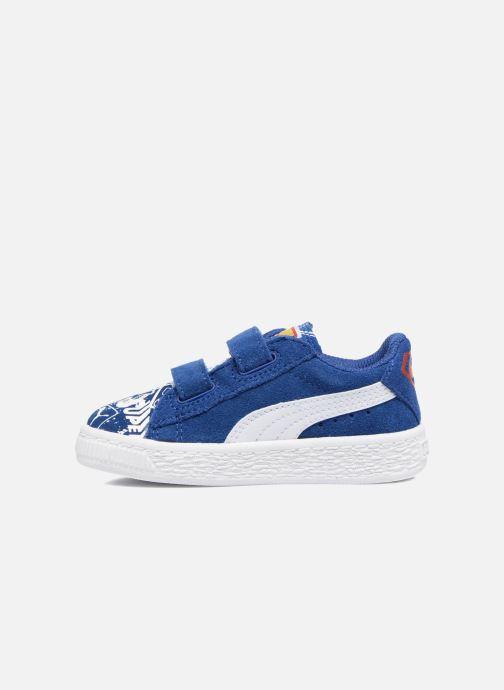 Baskets Puma Suede Superman Street V Inf Bleu vue face
