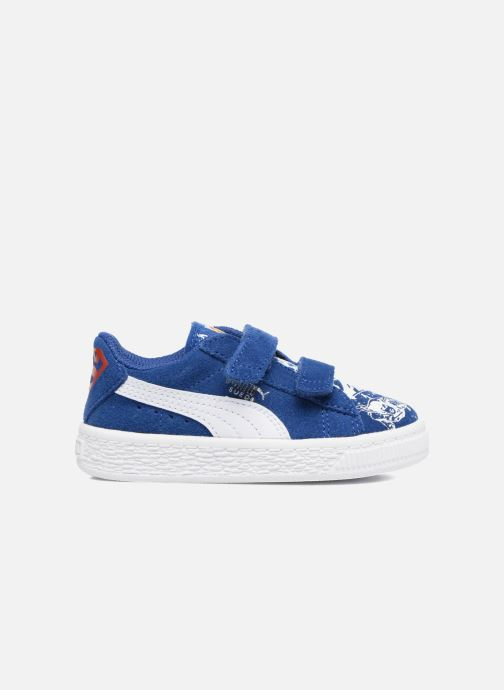 Trainers Puma Suede Superman Street V Inf Blue back view