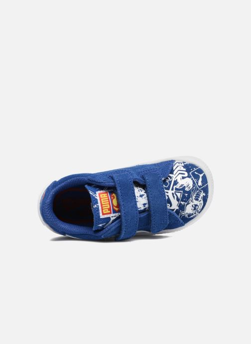 Trainers Puma Suede Superman Street V Inf Blue view from the left