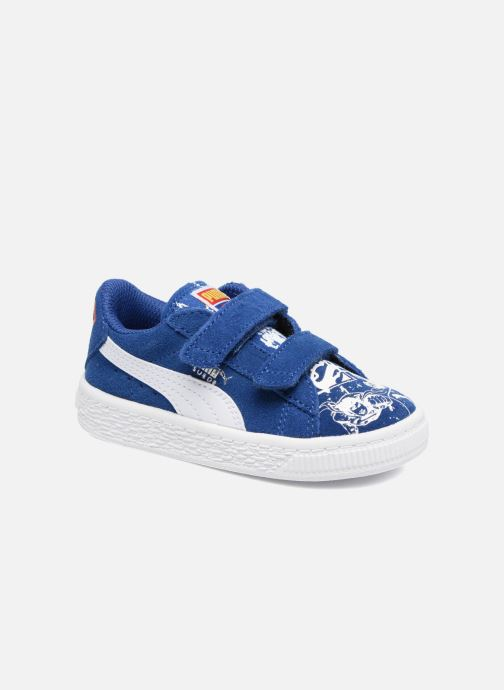 Trainers Puma Suede Superman Street V Inf Blue detailed view/ Pair view