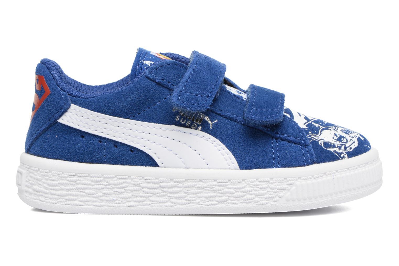 Sneakers Puma Suede Superman Street V Inf Blå se bagfra