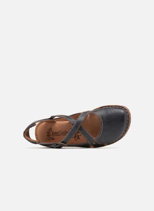 Sandales et nu-pieds Josef Seibel Rosalie 13 Bleu vue gauche