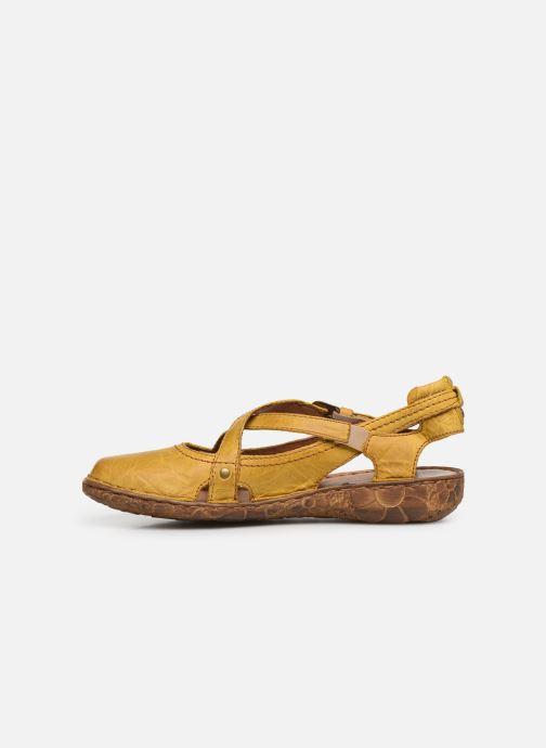 Sandales et nu-pieds Josef Seibel Rosalie 13 Jaune vue face