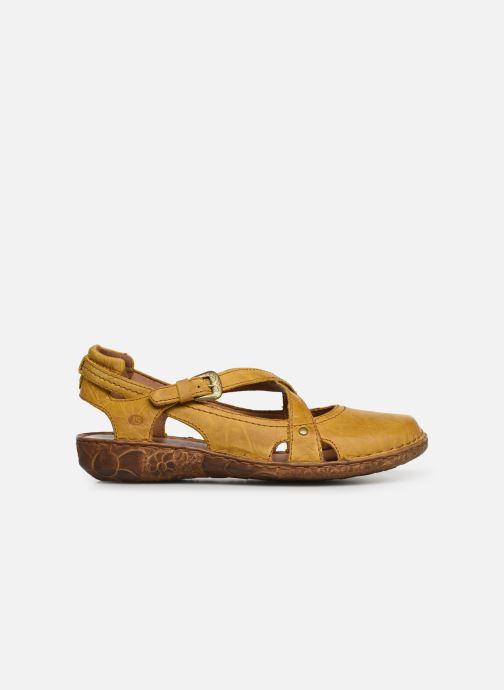 Sandales et nu-pieds Josef Seibel Rosalie 13 Jaune vue derrière