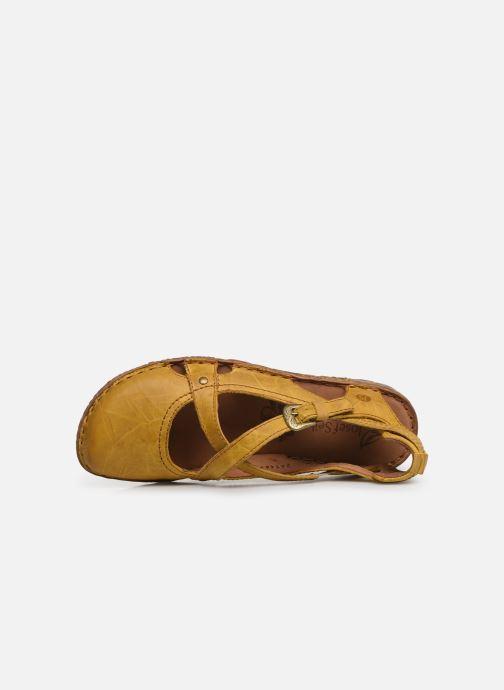 Sandales et nu-pieds Josef Seibel Rosalie 13 Jaune vue gauche