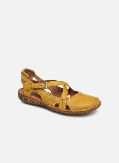 Sandales et nu-pieds Josef Seibel Rosalie 13 Jaune vue détail/paire