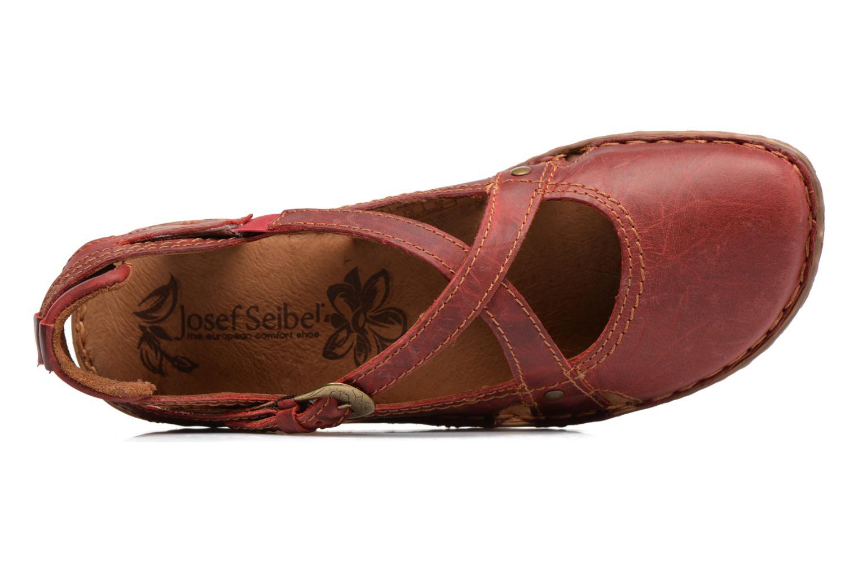 Sandaler Josef Seibel Rosalie 13 Rød se fra venstre
