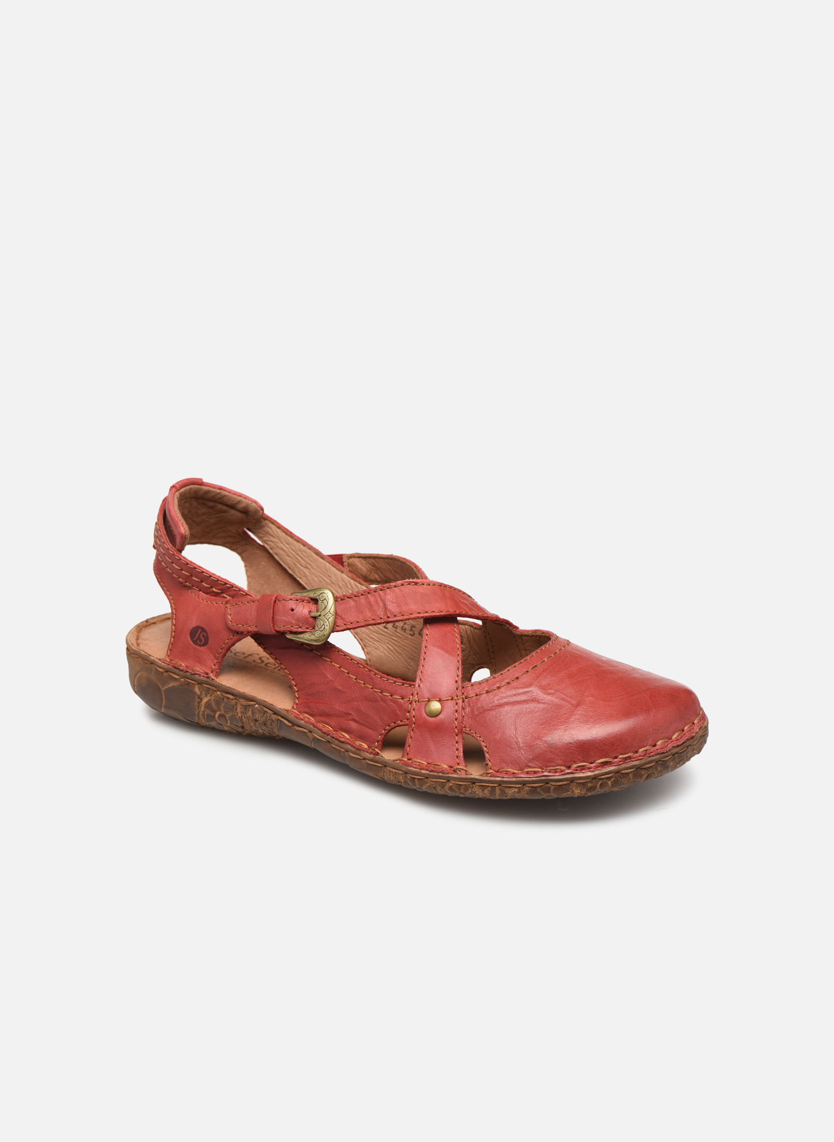 Sandals Josef Seibel Rosalie 13 Red detailed view/ Pair view