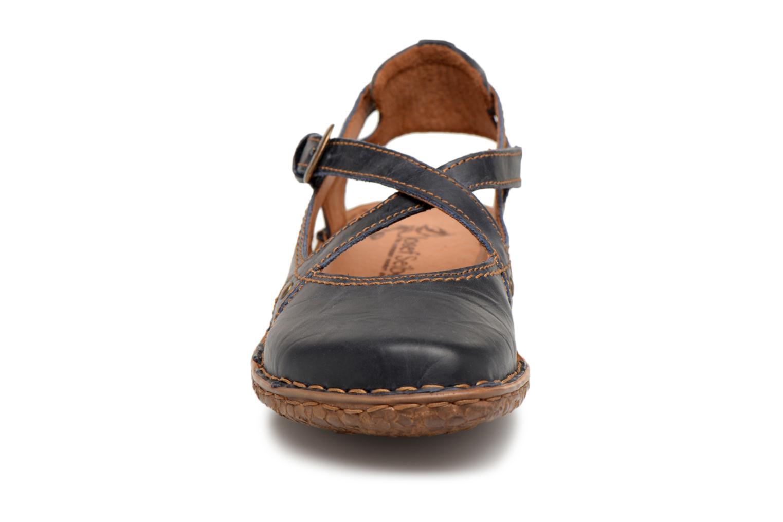 Sandales et nu-pieds Josef Seibel Rosalie 13 Bleu vue portées chaussures
