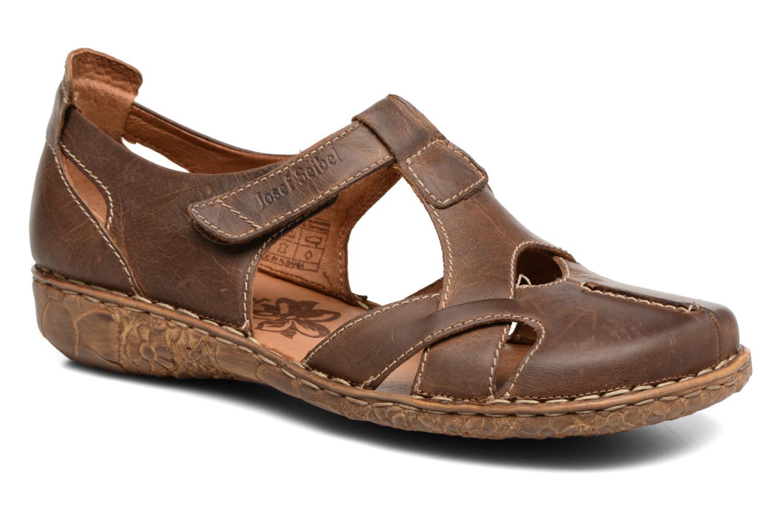 Sandaler Josef Seibel Rosalie 21 Brun detaljeret billede af skoene