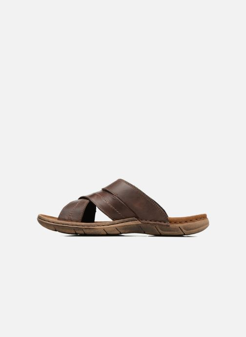 Sandales et nu-pieds Josef Seibel Paul 29 Marron vue face