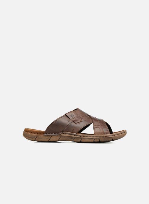 Sandales et nu-pieds Josef Seibel Paul 29 Marron vue derrière