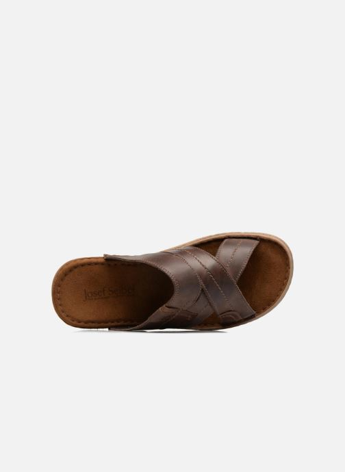 Sandales et nu-pieds Josef Seibel Paul 29 Marron vue gauche