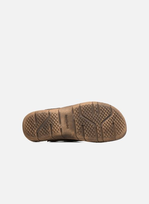 Sandales et nu-pieds Josef Seibel Paul 29 Marron vue haut