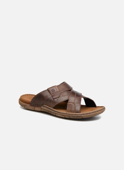 Sandales et nu-pieds Josef Seibel Paul 29 Marron vue détail/paire