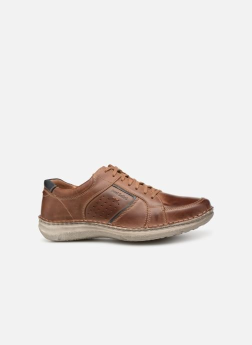 Lace-up shoes Josef Seibel Anvers 59 Brown back view