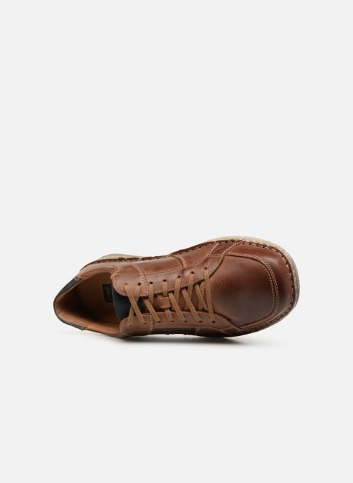 Lace-up shoes Josef Seibel Anvers 59 Brown view from the left
