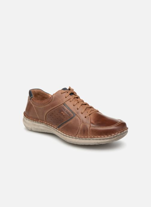 Lace-up shoes Josef Seibel Anvers 59 Brown detailed view/ Pair view