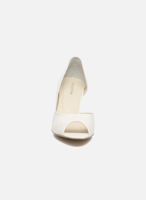 High heels Georgia Rose Aligette White model view