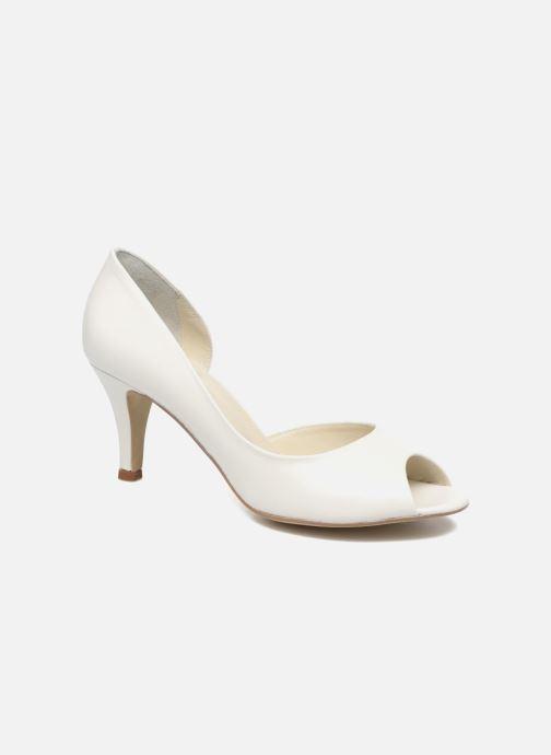 High heels Georgia Rose Aligette White detailed view/ Pair view