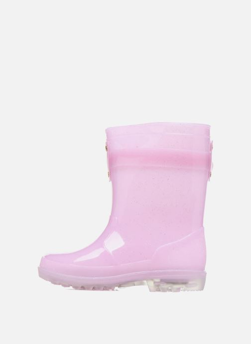 Boots & wellies Be Only Dolce Kid Flash Pink front view