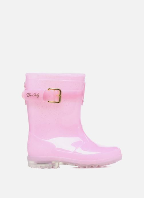 Botas Be only Dolce Kid Flash Rosa vistra trasera