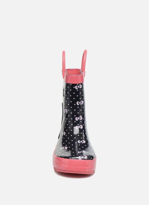 Bottes Be Only Danseuse Bleu vue portées chaussures