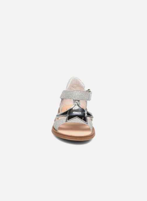 Sandales et nu-pieds Acebo's Sofia Argent vue portées chaussures