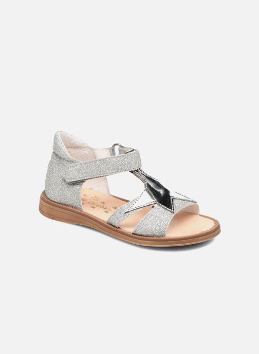 Sandales et nu-pieds Acebo's Sofia Argent vue détail/paire
