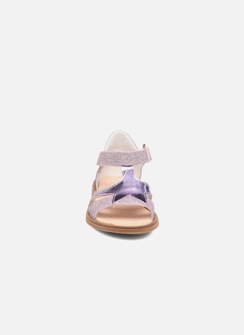 Sandales et nu-pieds Acebo's Sofia Rose vue portées chaussures